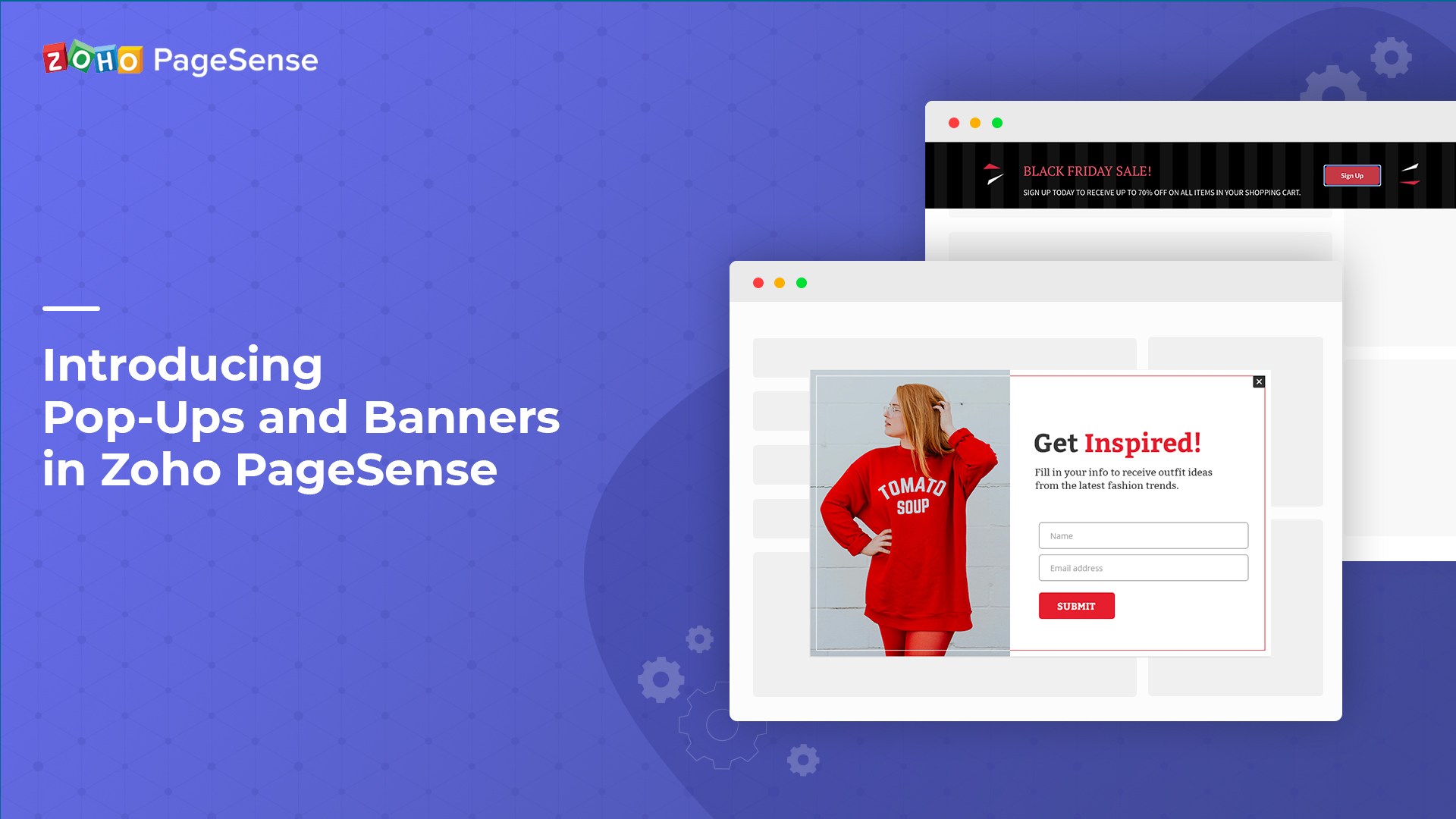 Introducing  Pop-Ups and Banners in PageSense