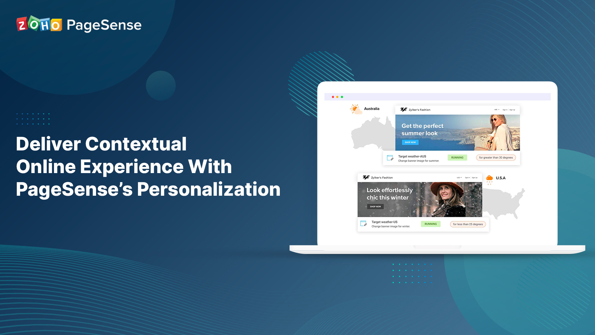 Deliver Contextual Online Experience With PageSense's Personalization