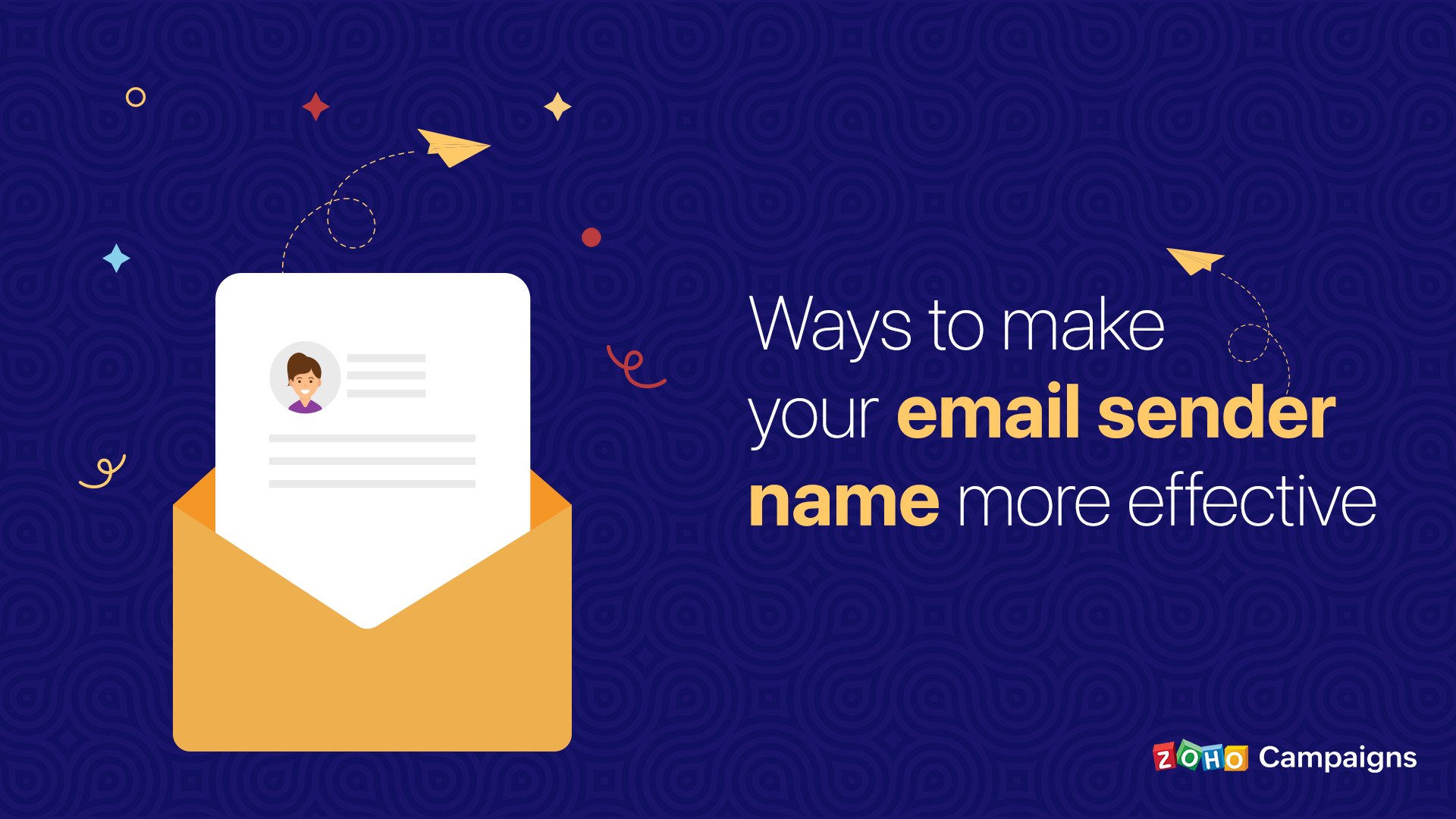 Ways to make your email sender name more effective