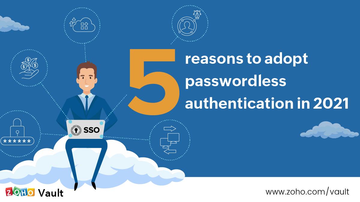 Zoho Vault - Passwordless authentication