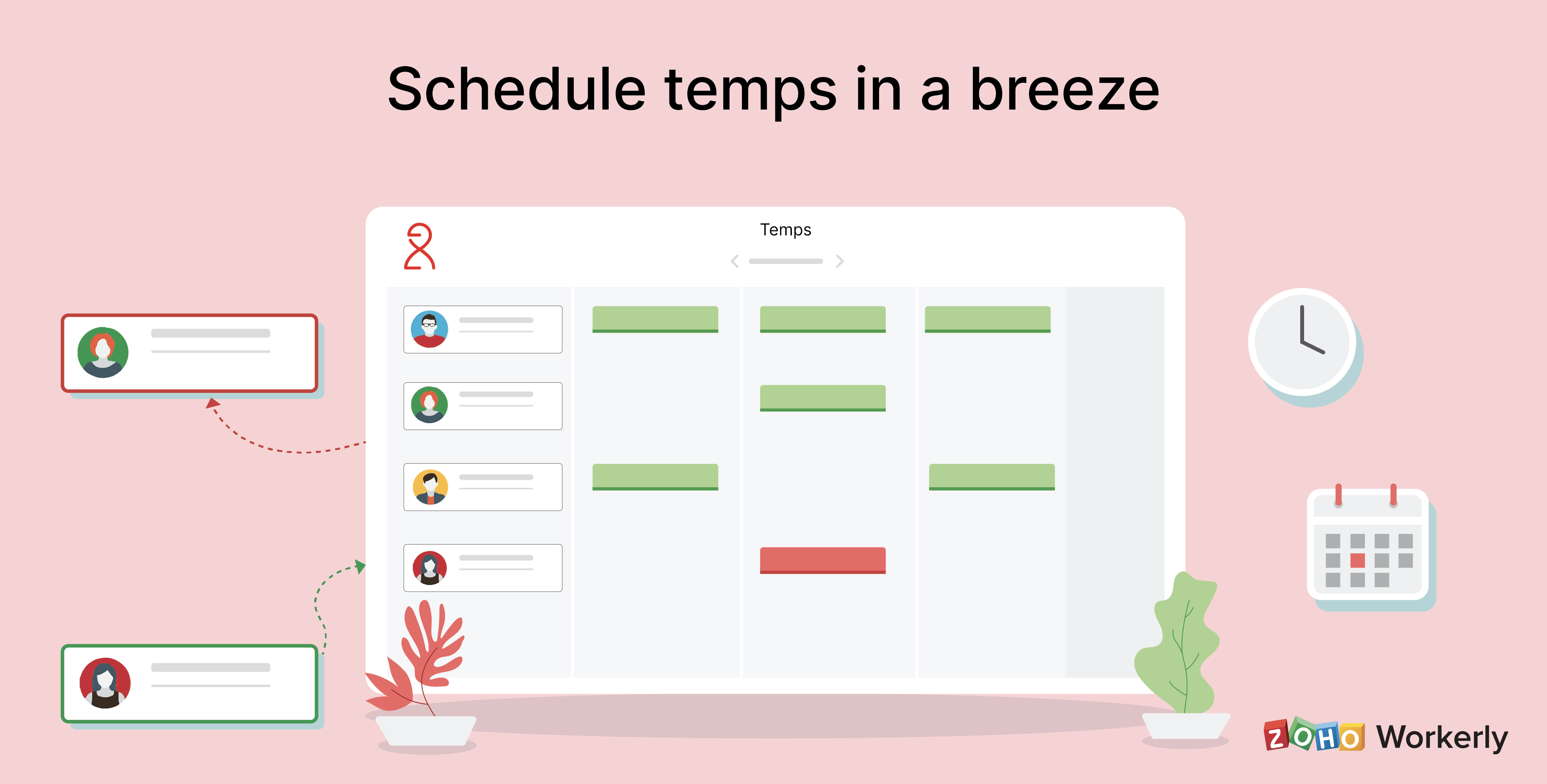 Level up your temp staffing game with Zoho Workerly
