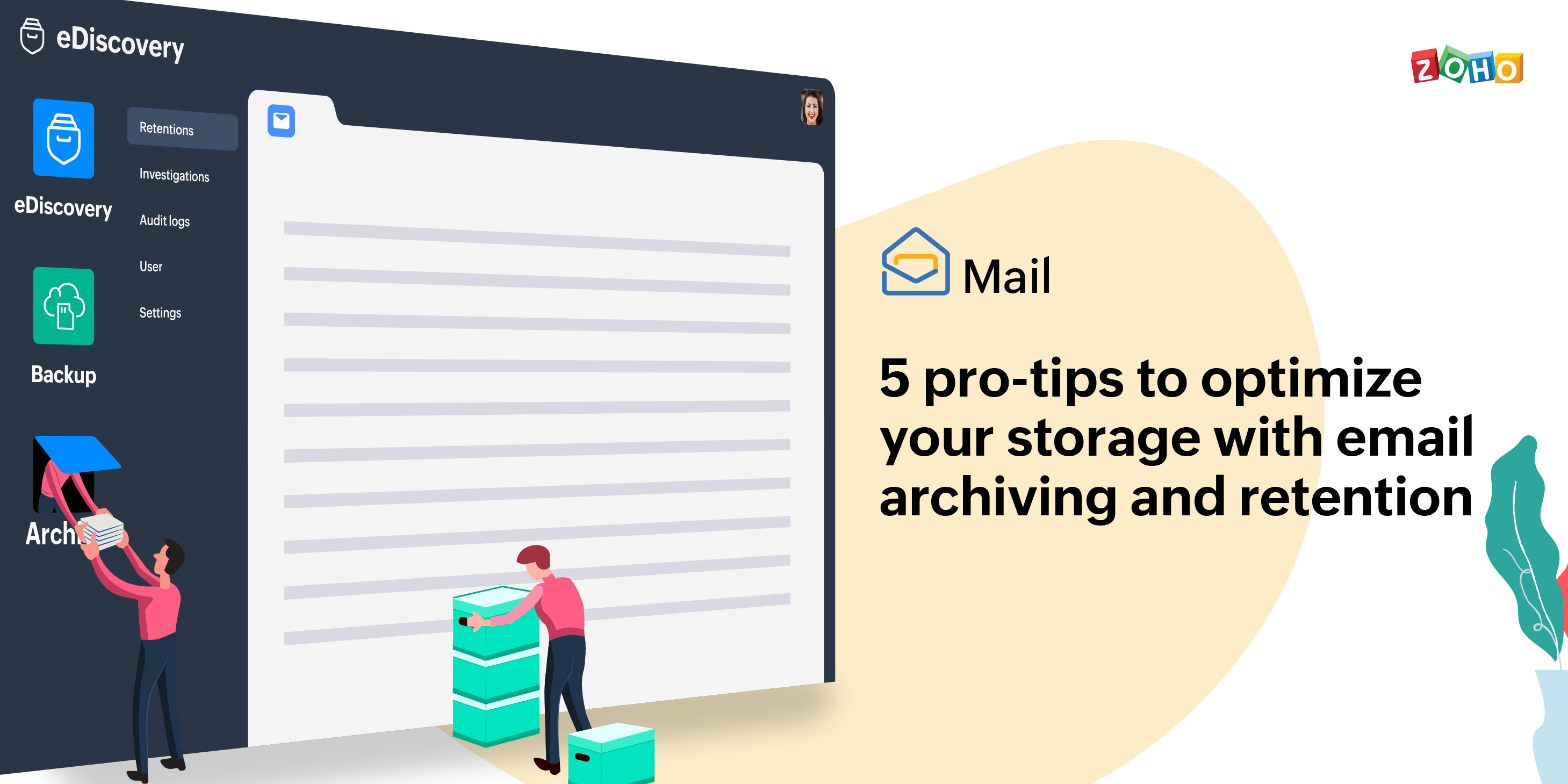 5 pro-tips to optimize your storage with Email Archiving and Retention
