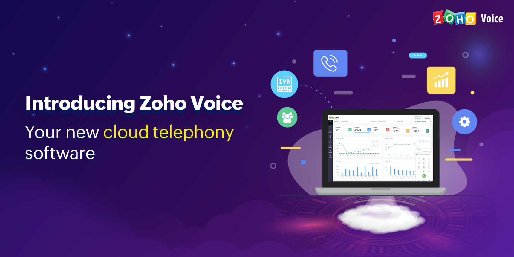 Launching Zoho Voice: Handle calls better with our new smart business phone software.