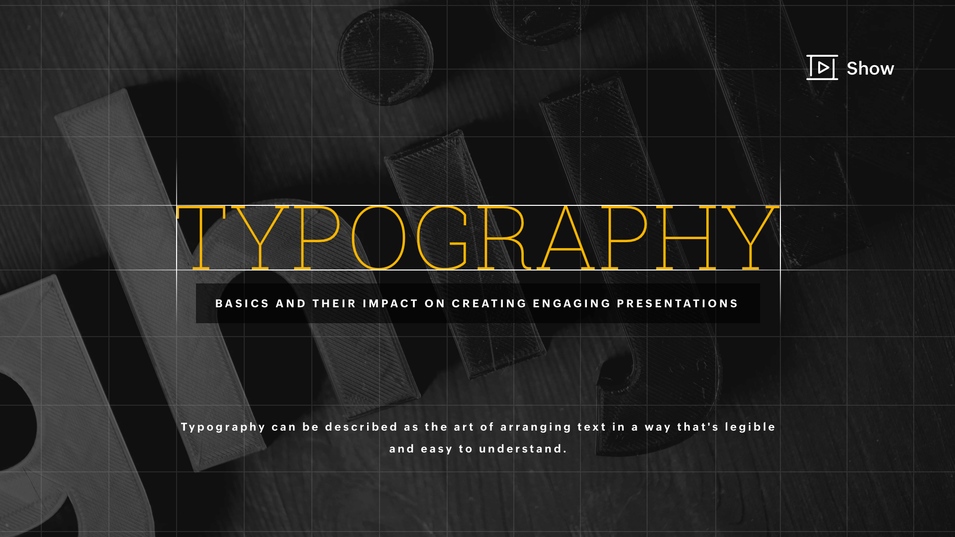 Typography basics and their impact on creating engaging presentations