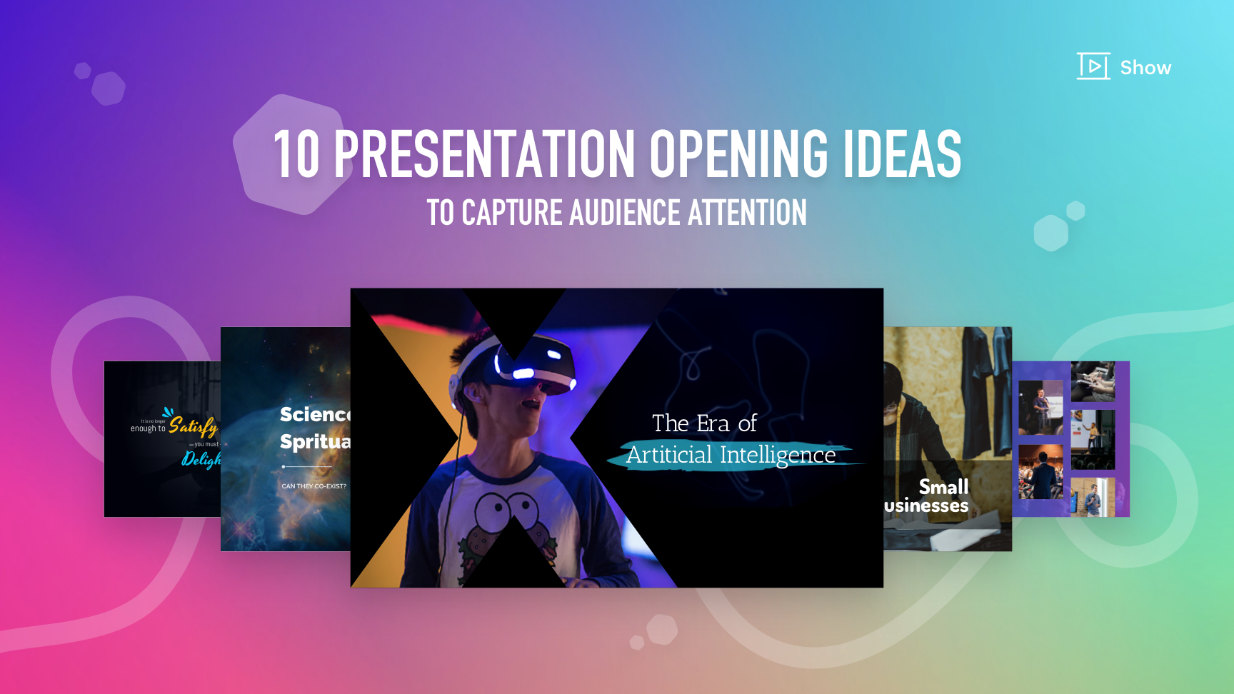 10 presentation opening ideas to capture audience attention