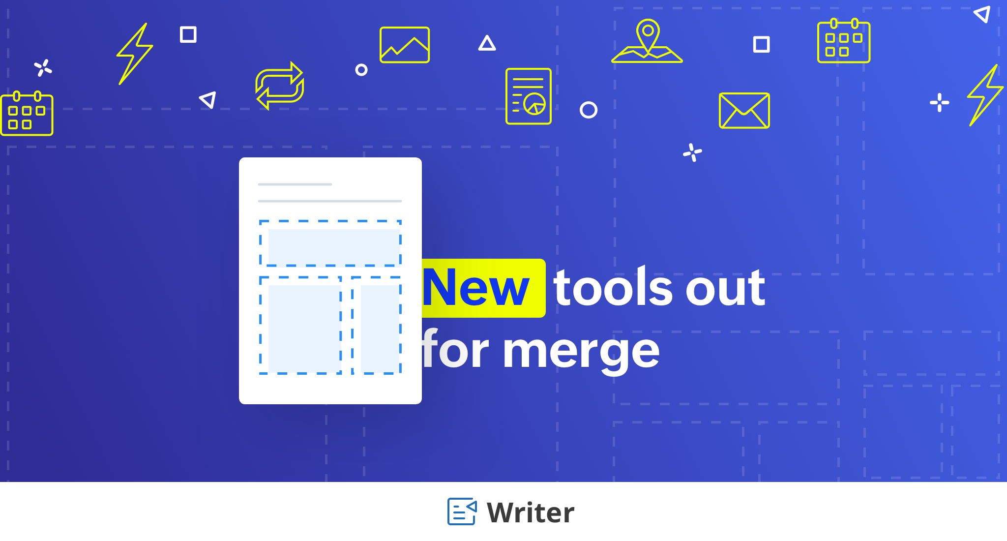 Introducing great new tools to power up your document merges ⚡️