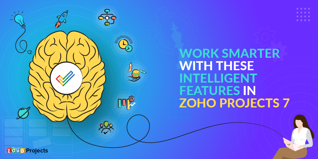 Intelligent features in Zoho Projects