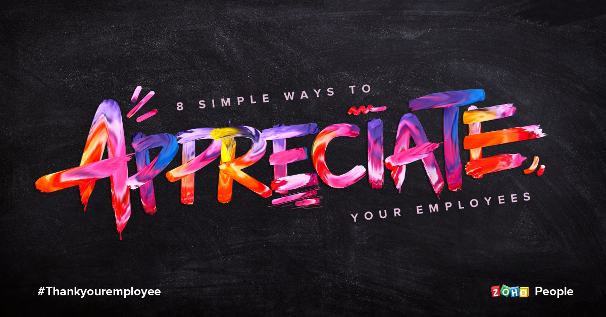 8 Simple ways to appreciate employees