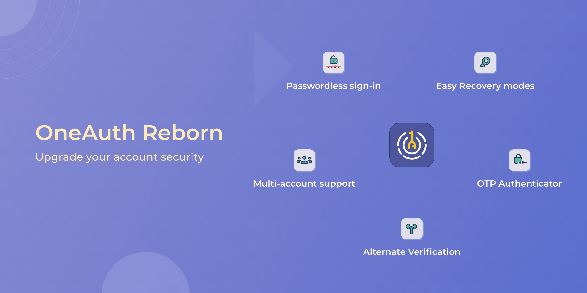OneAuth Reborn: Upgrade Your Account Security