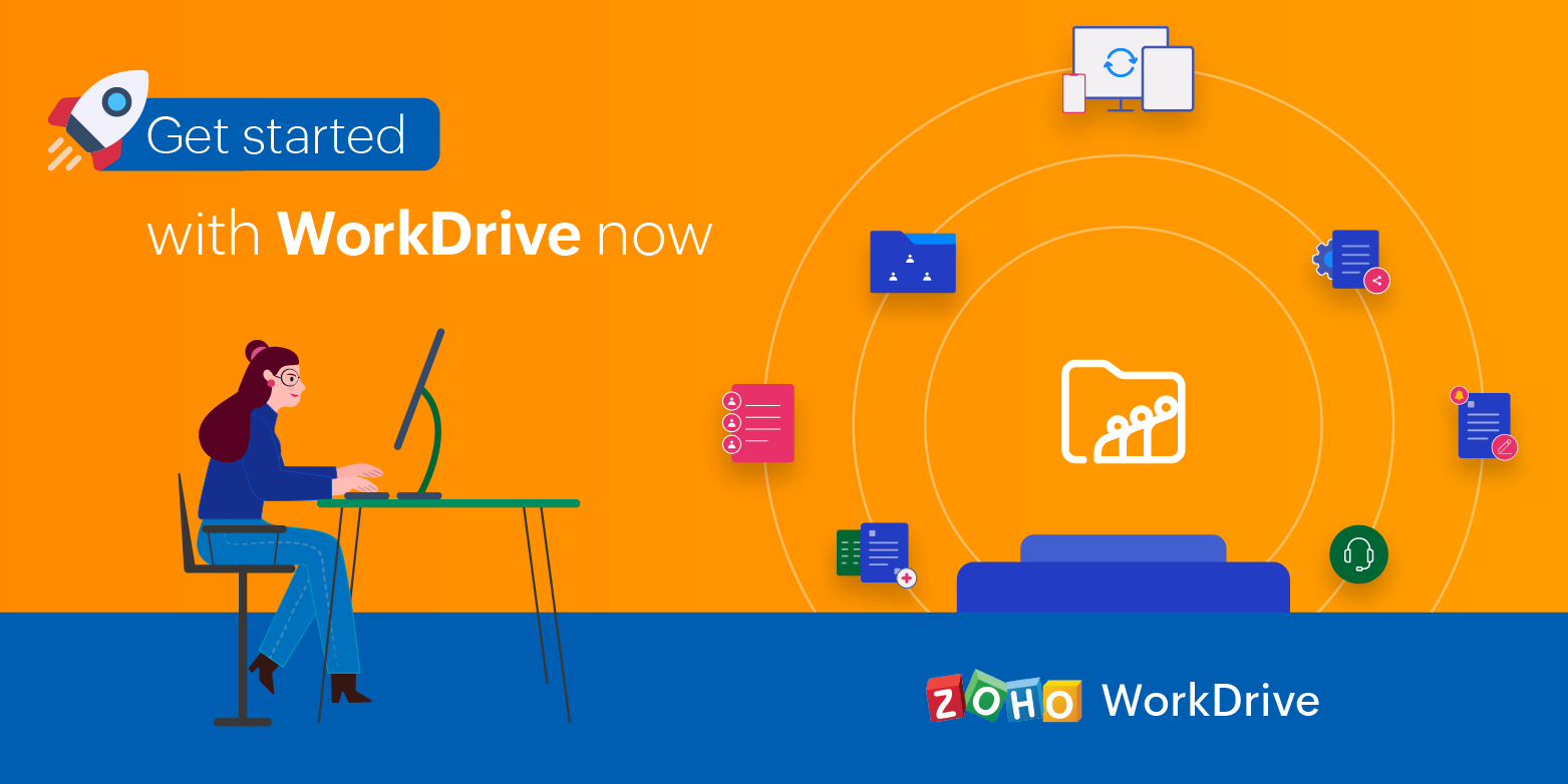 A quick look at getting started with WorkDrive