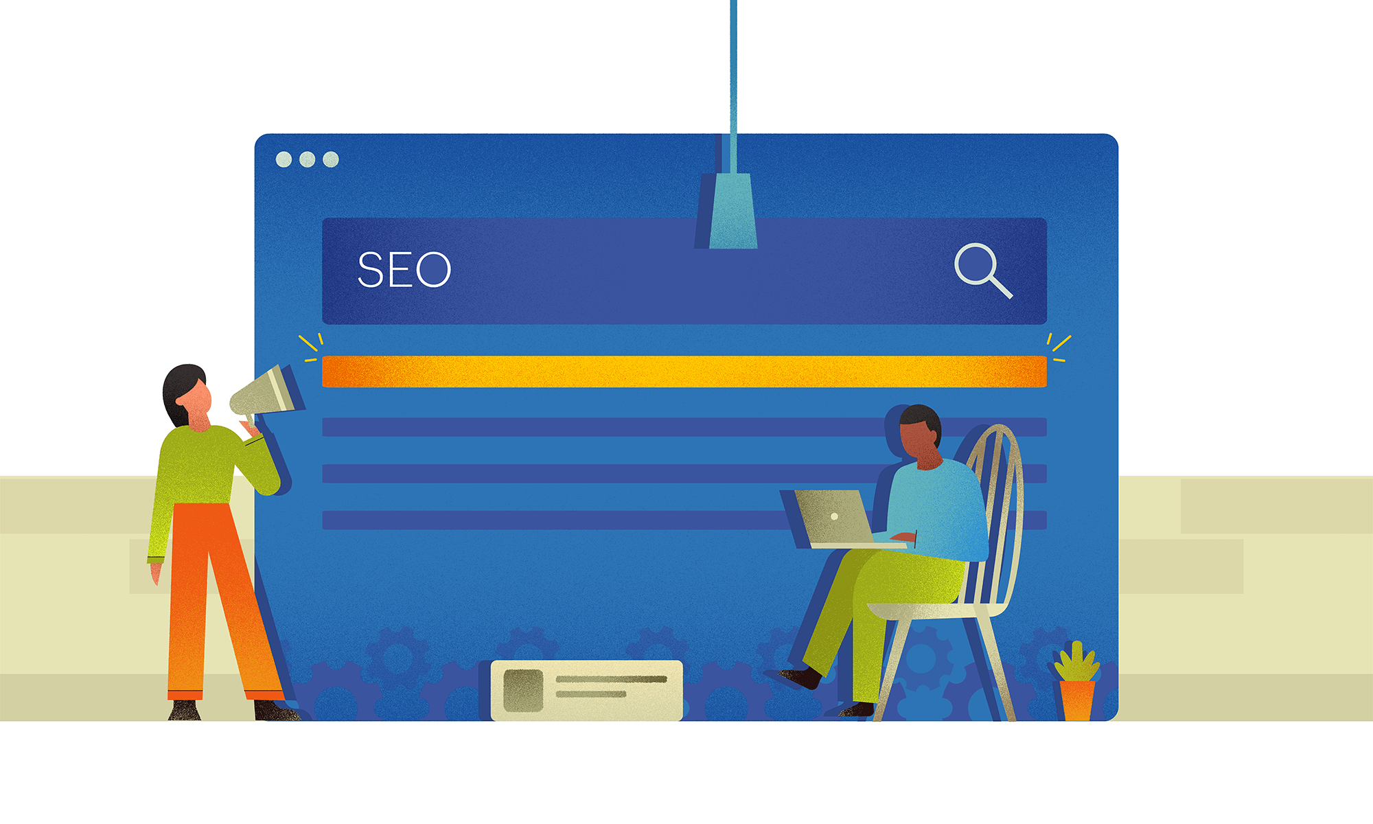 Optimising SEO for a website.