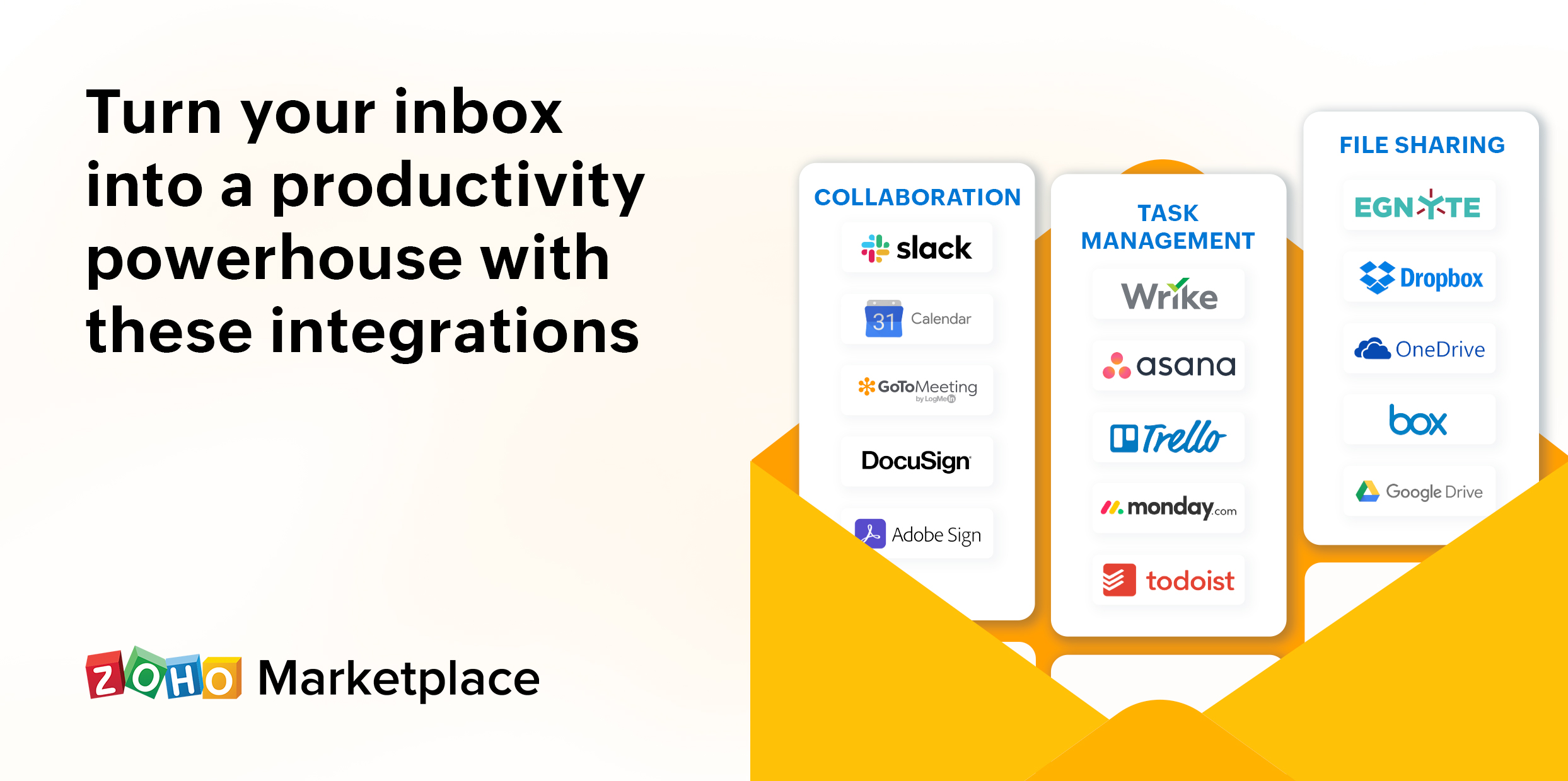 Turn your inbox into a productivity powerhouse with these integrations