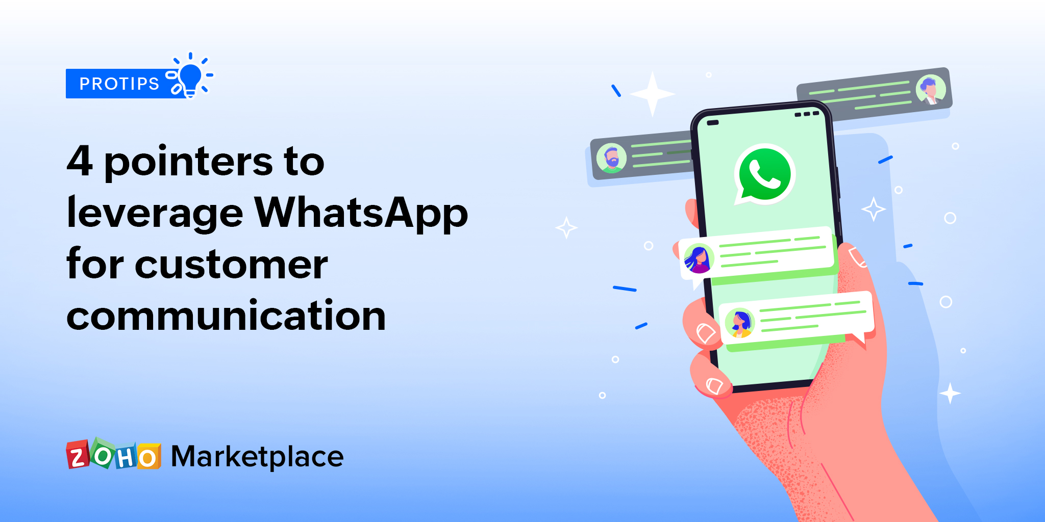 ProTips: 4 pointers to leverage WhatsApp for customer communication