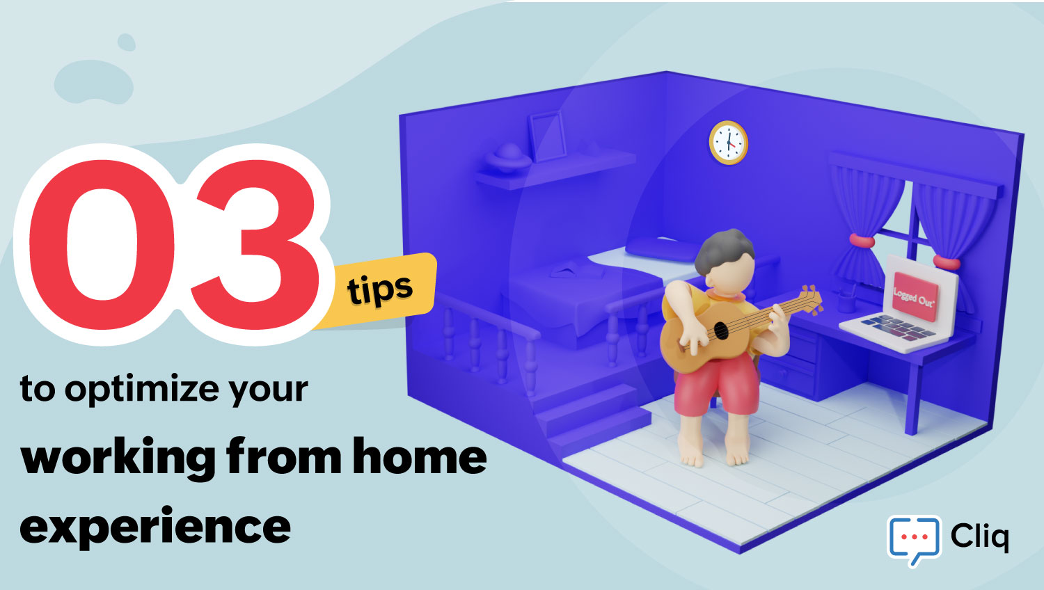 3 tips to optimize your working from home experience