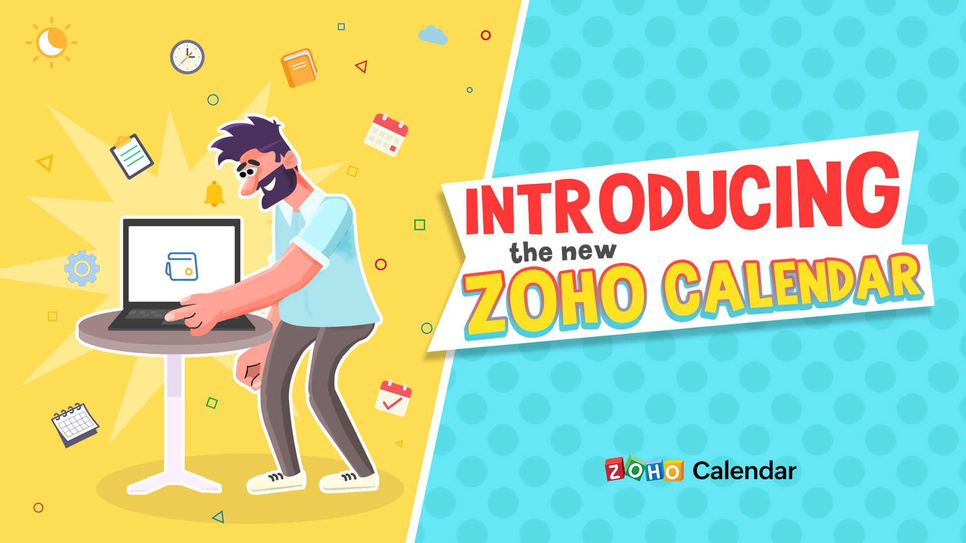 Introducing the new and improved Zoho Calendar!