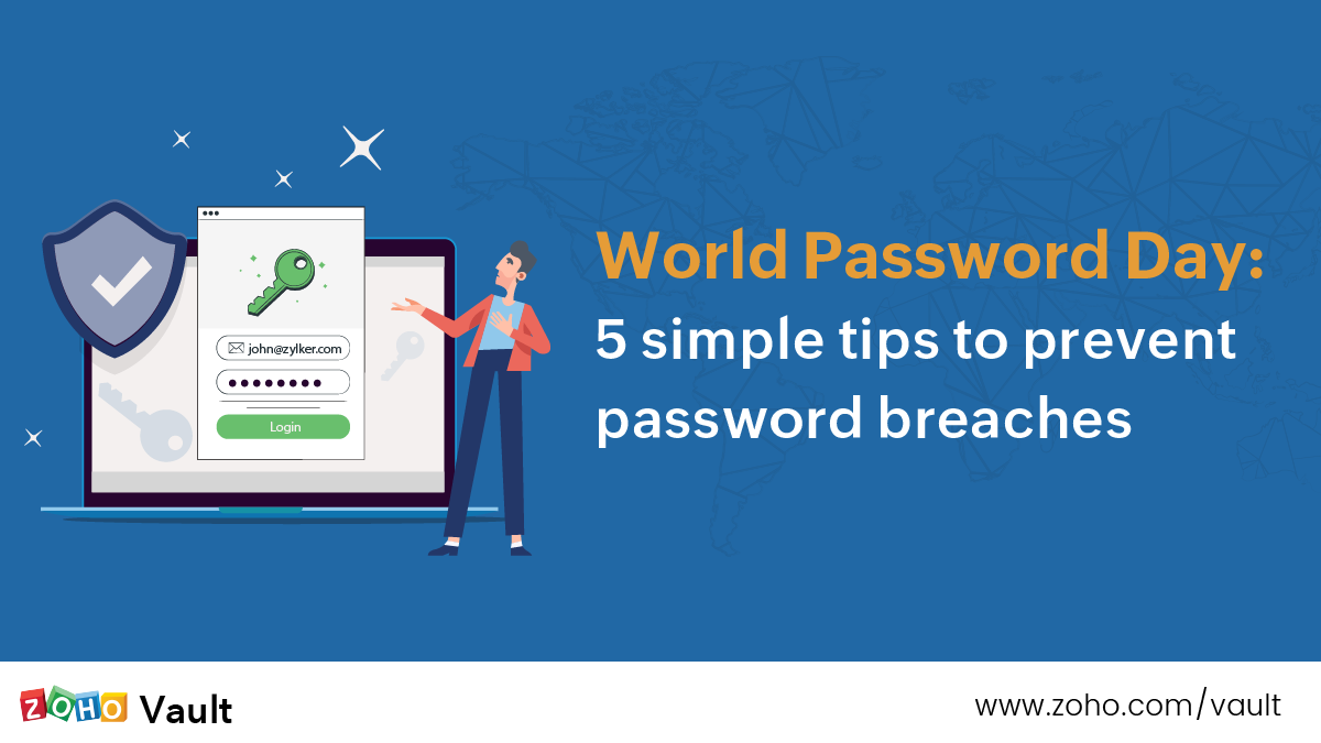 World Password Day 2021: 5 simple tips to prevent password breaches