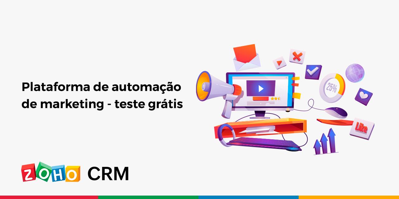Plataforma de automação de marketing – teste grátis