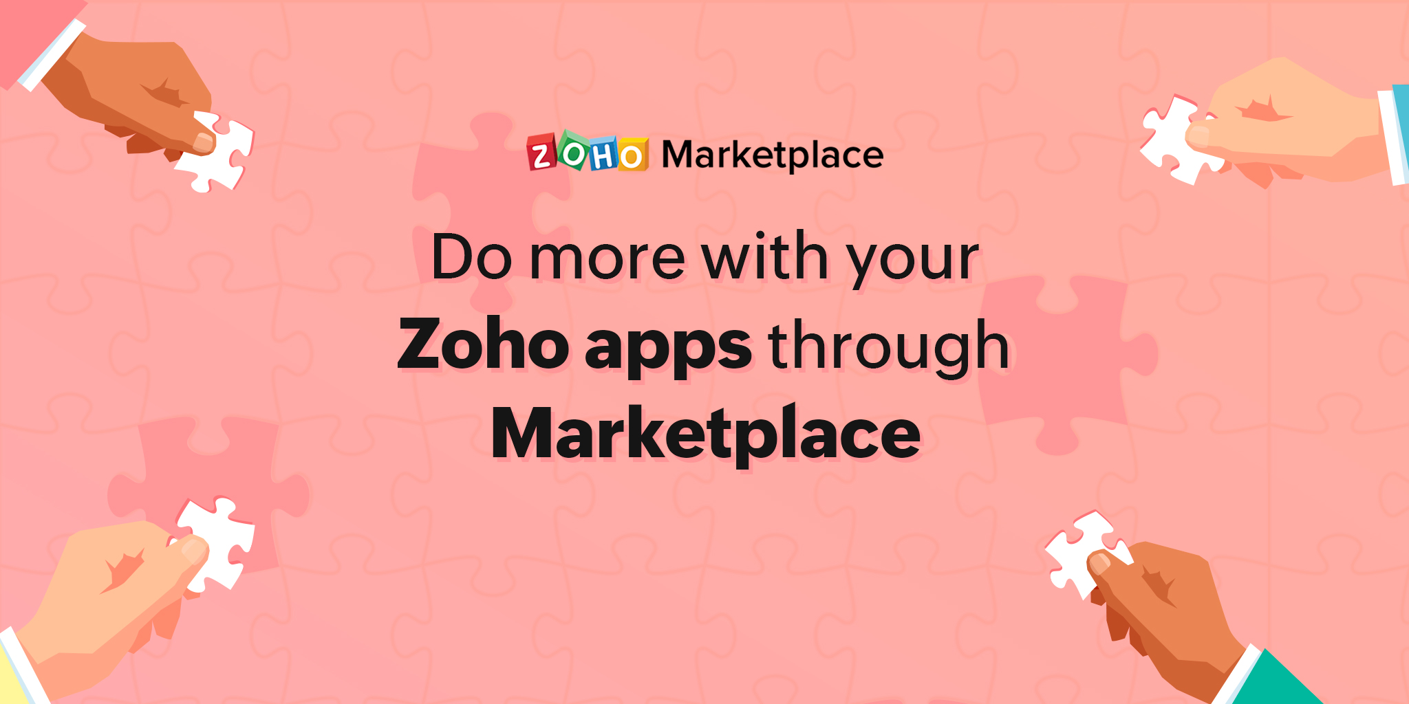 Do more with your Zoho apps through Marketplace
