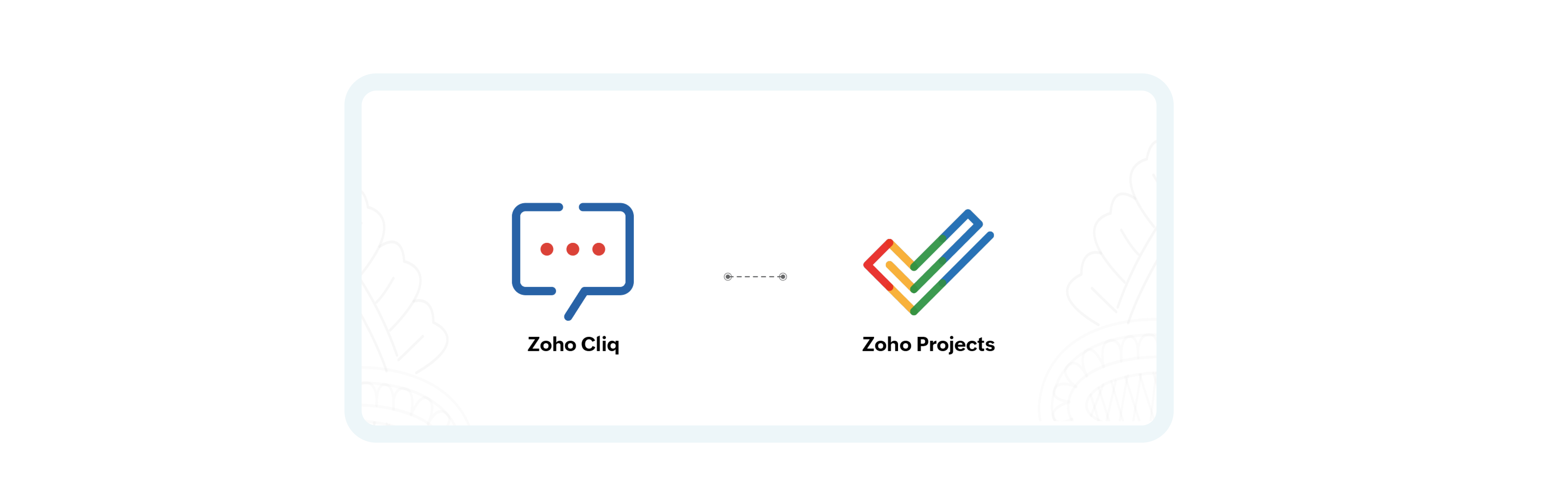 Zoho Cliq's integration with the Zoho Projects keeps your team updated in real-time and collaborate better.