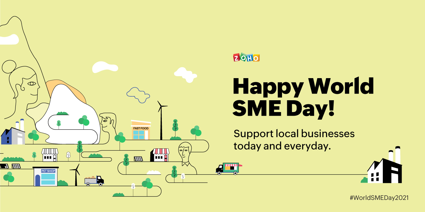 Happy World MSME Day! Participate in the Zoho MSME campaign today.