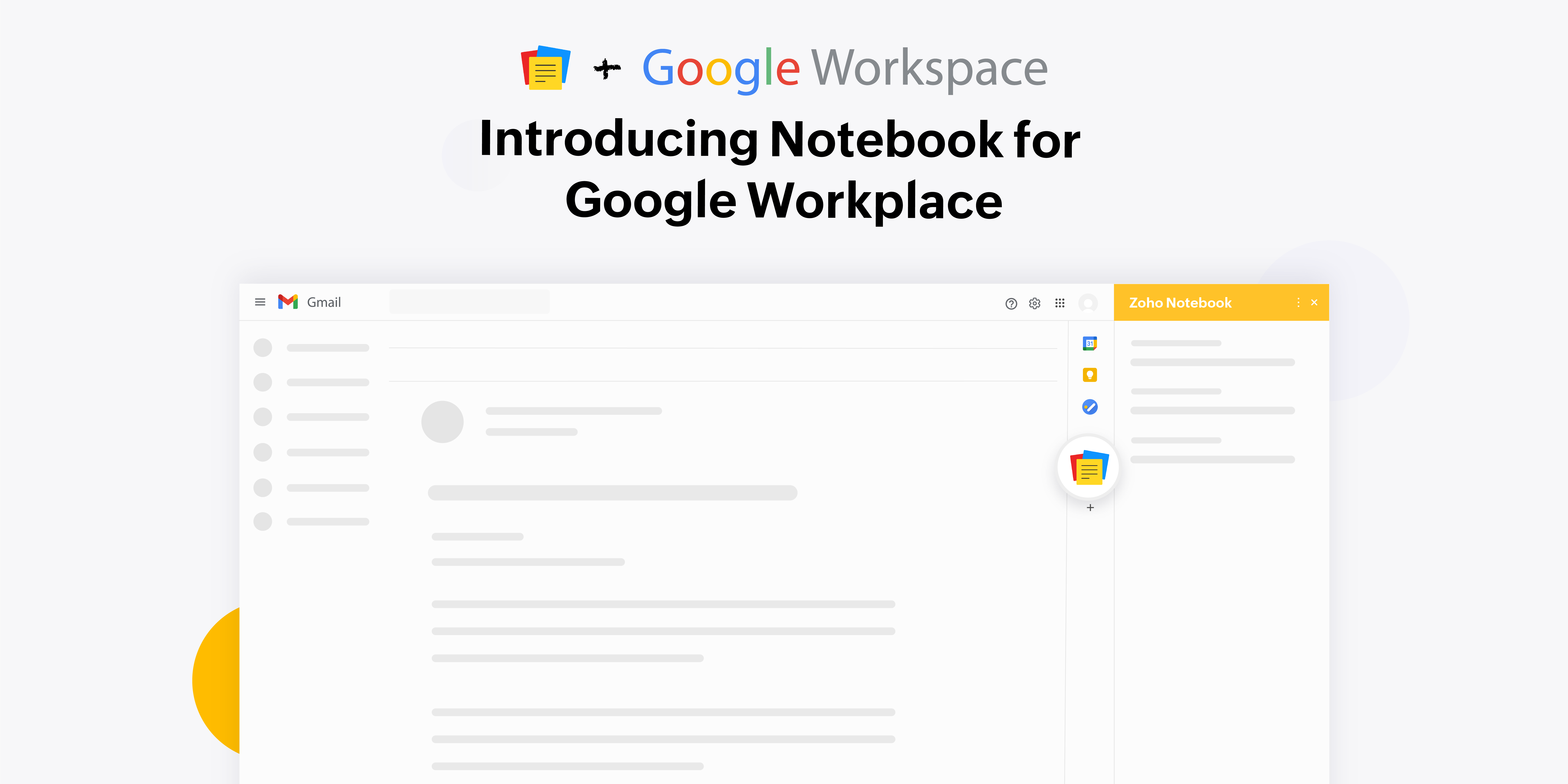 Introducing Notebook for Google Workspace