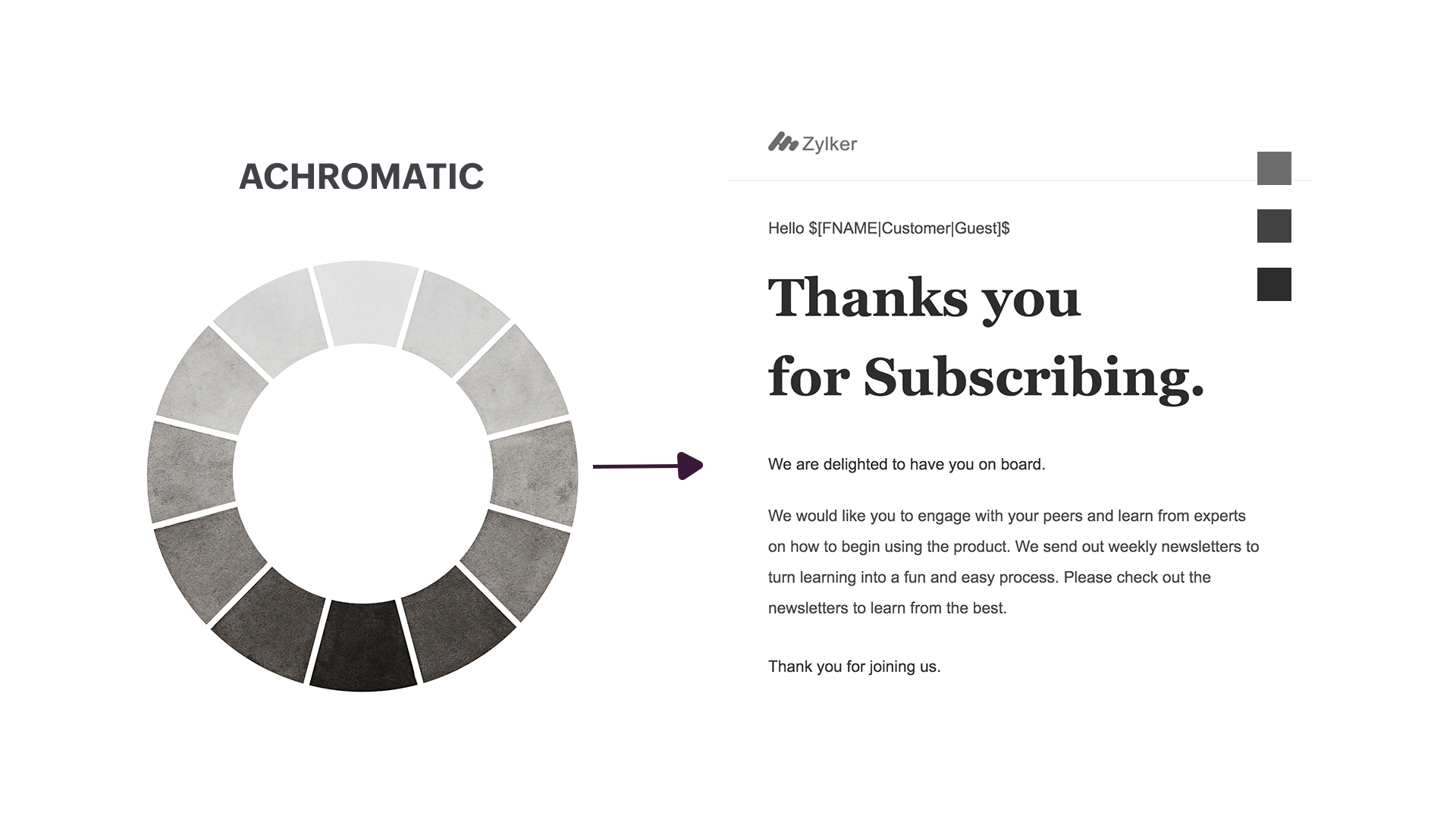 Image for achromatic color scheme