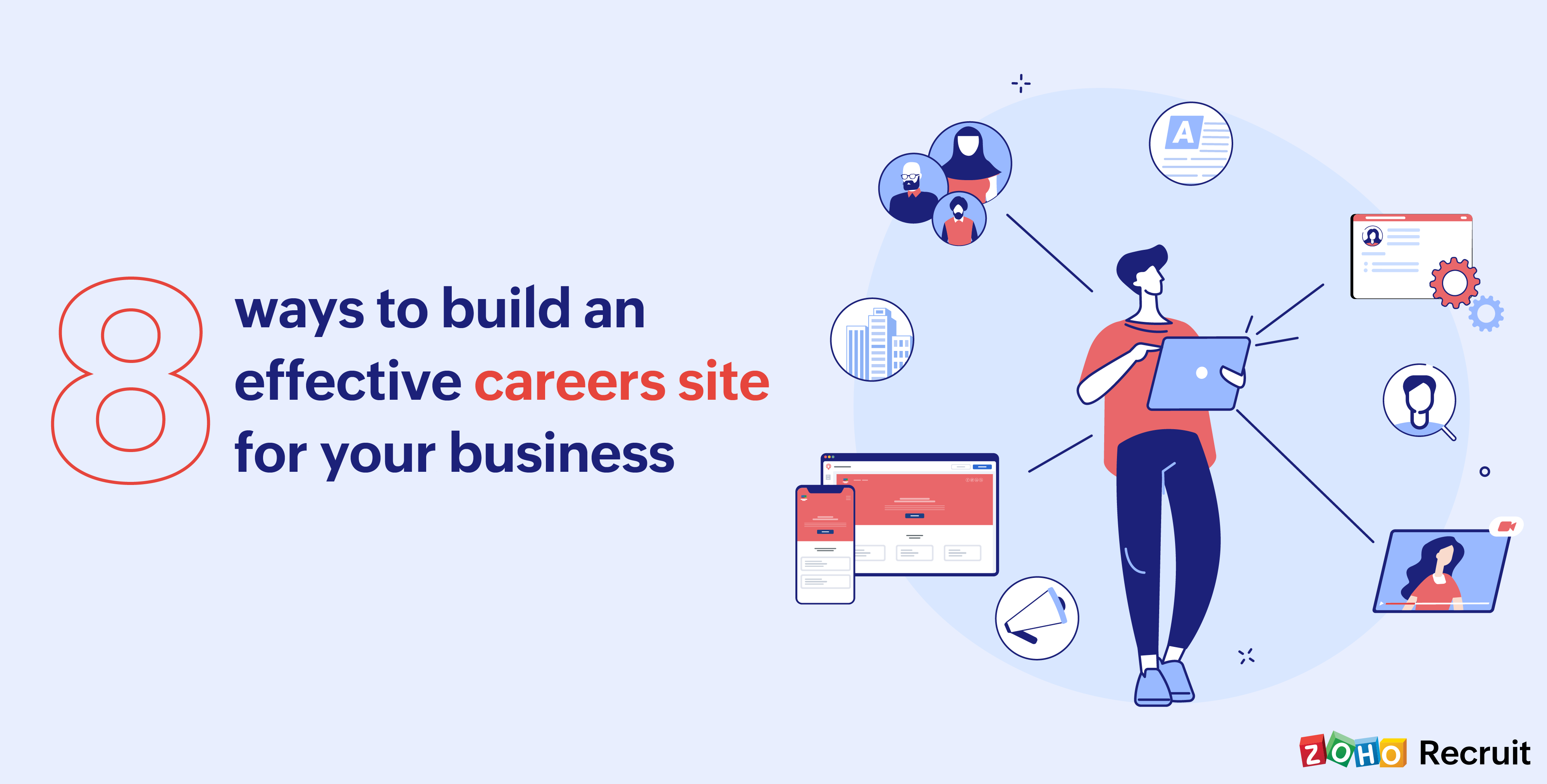 8 ways to build an effective careers site for your business