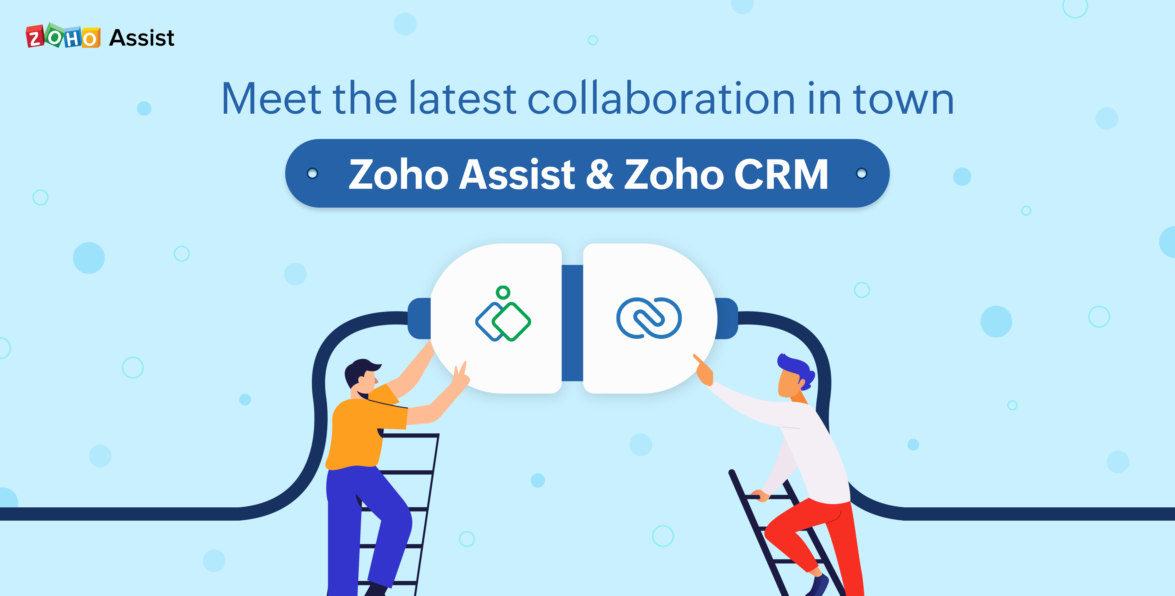 Zoho Assist – Zoho CRM : The Integration That Made Remote Support Possible In A CRM Solution
