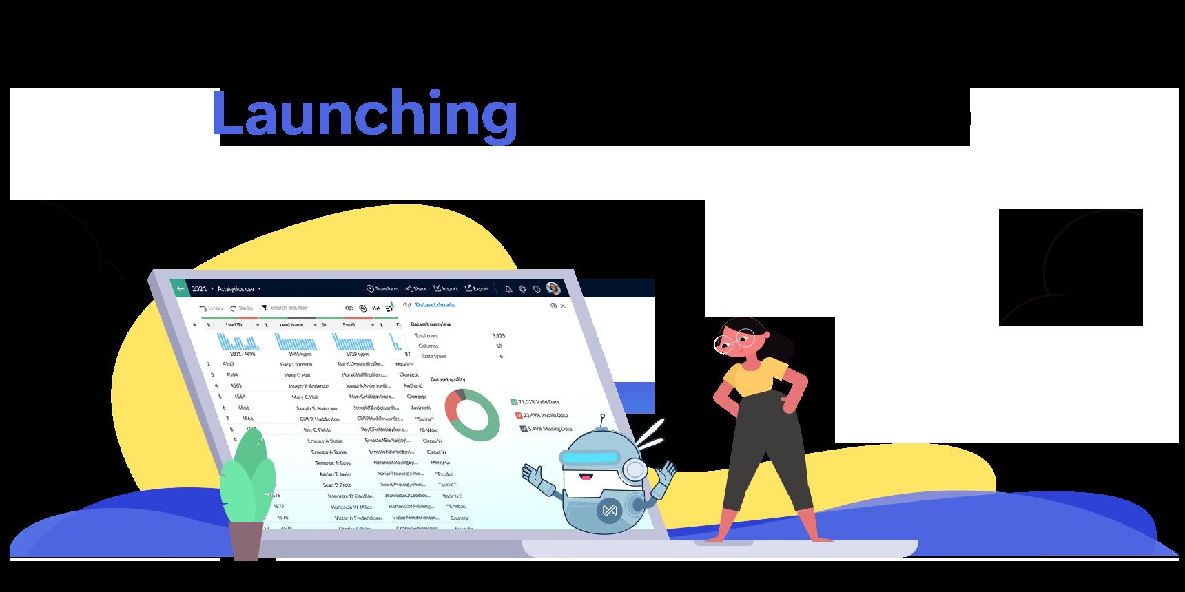 Launch of Self-service Data Preparation Service – Zoho DataPrep
