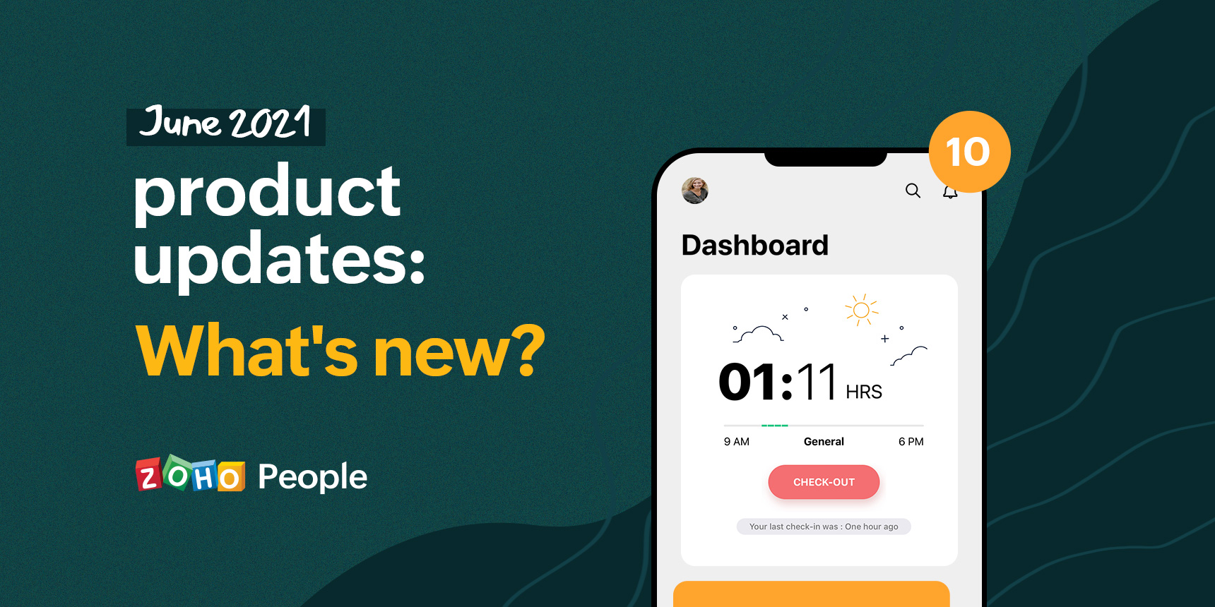 Product updates from Zoho People: June 2021