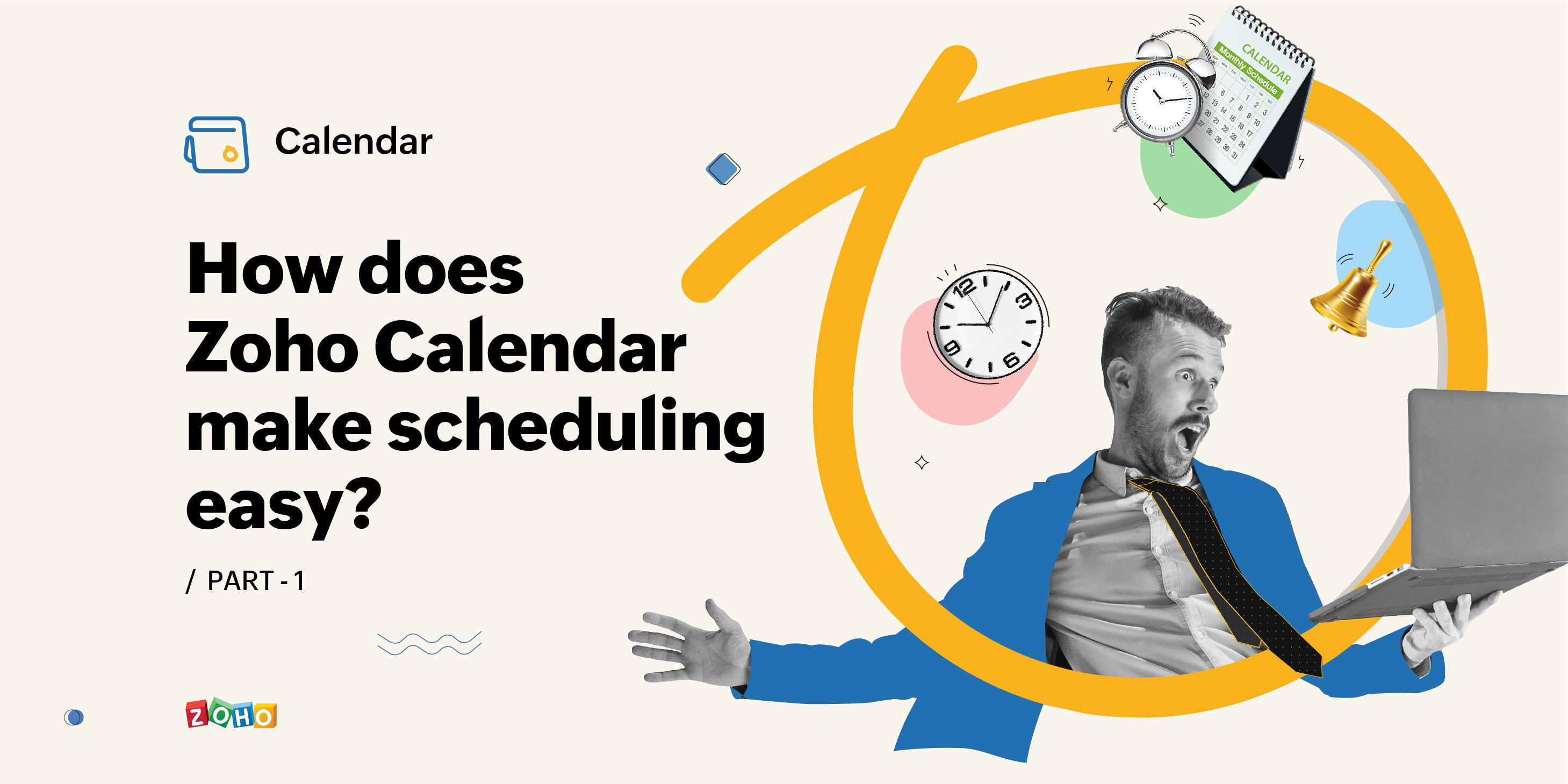 What can Zoho Calendar do for you? – Part 1
