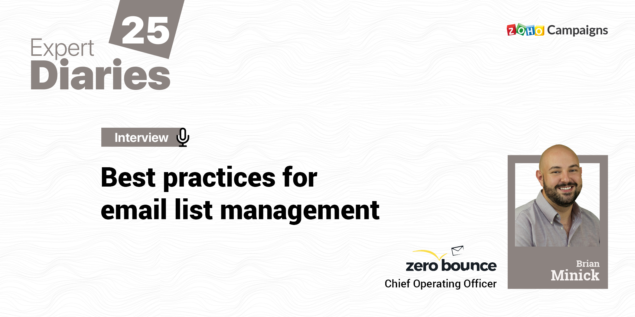 Best practices for email list management