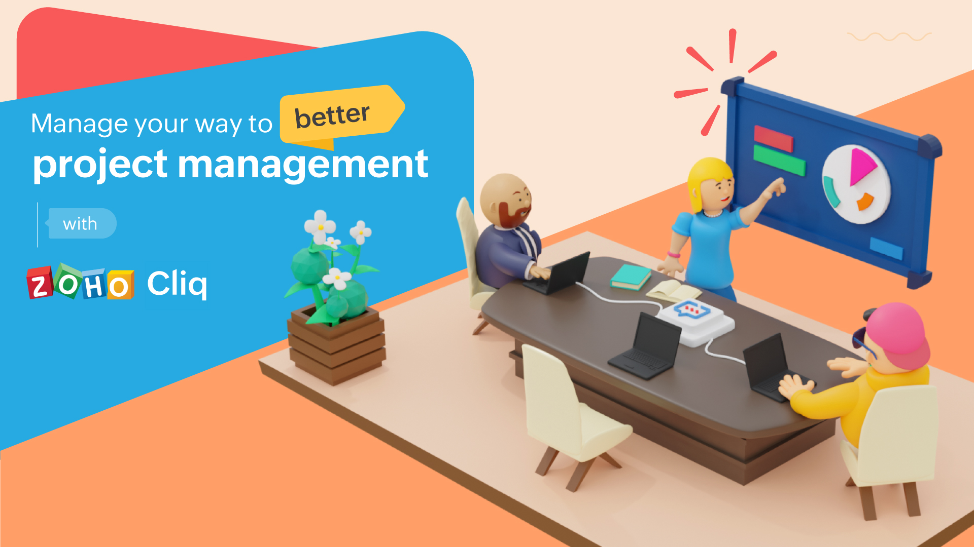 Manage your way to better project management with Cliq