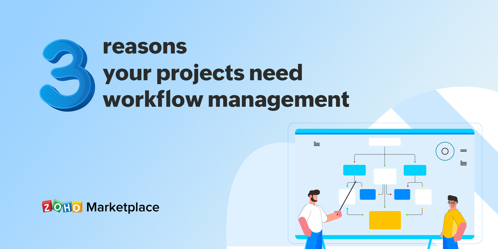 3 reasons your projects need workflow management