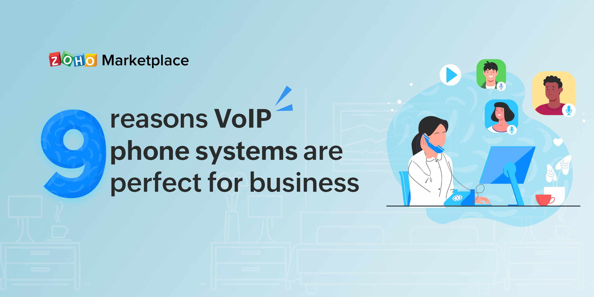 9 reasons VoIP phone systems are perfect for business