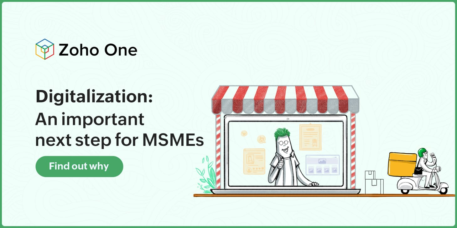 Digitalization: an important next step for MSMEs