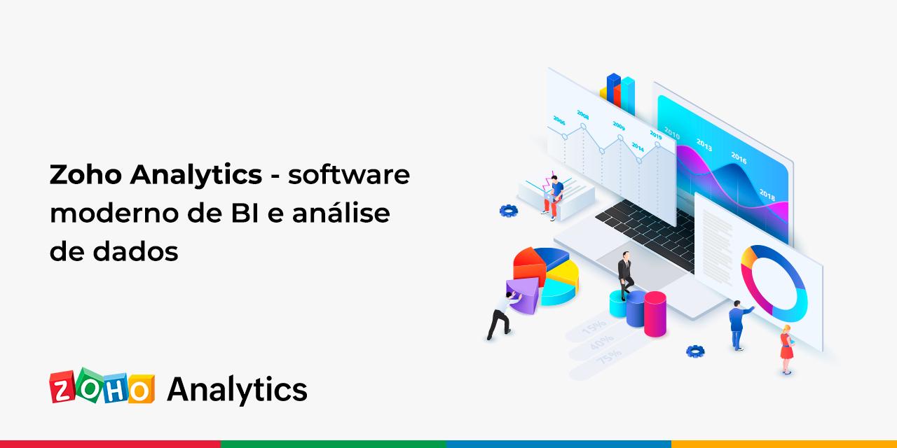 Zoho Analytics – software moderno de BI e análise de dados
