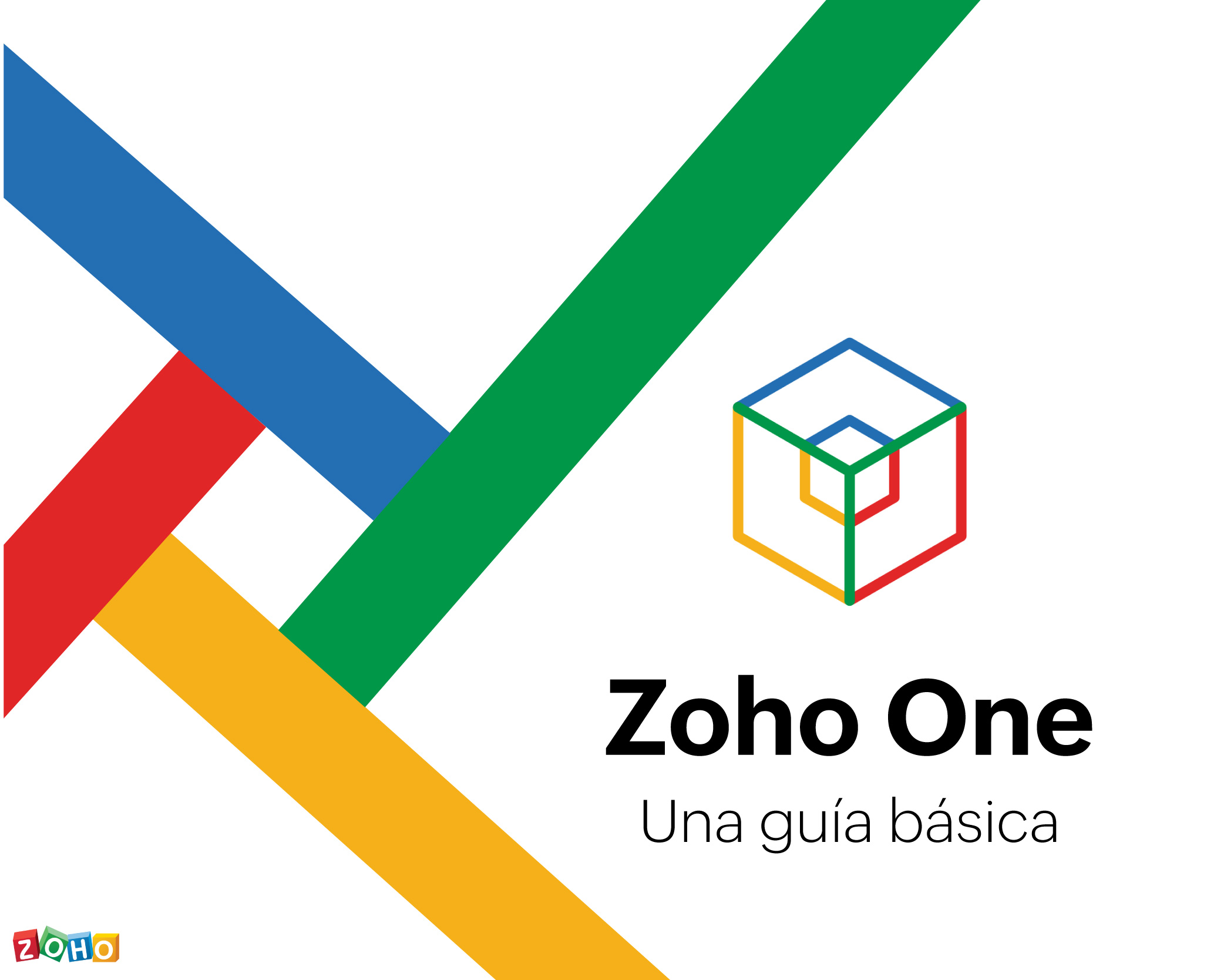 Empezar a usar Zoho One. Una guía básica