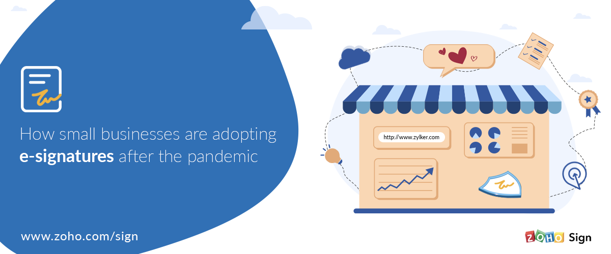 How small businesses are adopting e-signatures after the pandemic
