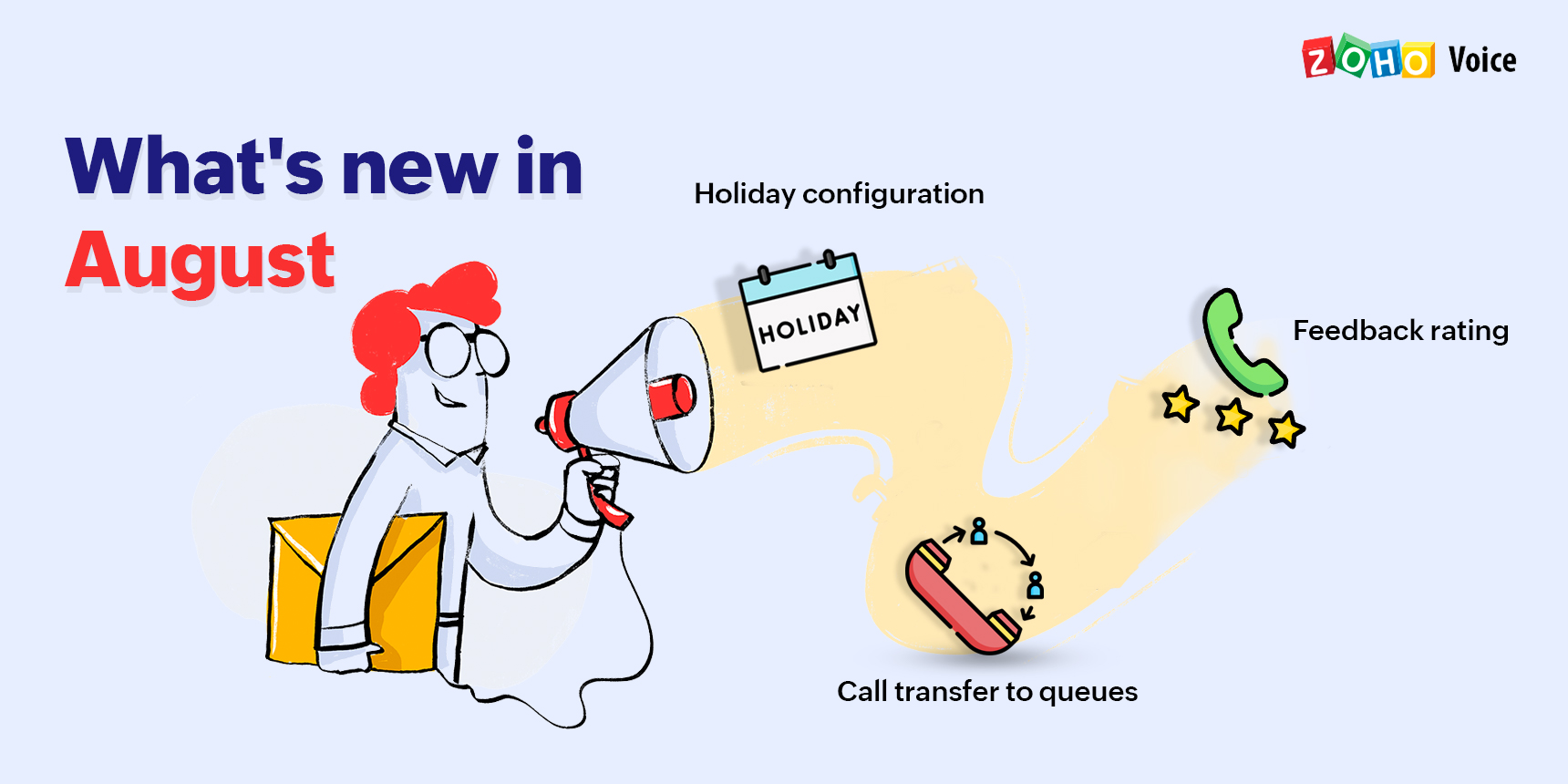 Product updates from Zoho Voice: What's new in August
