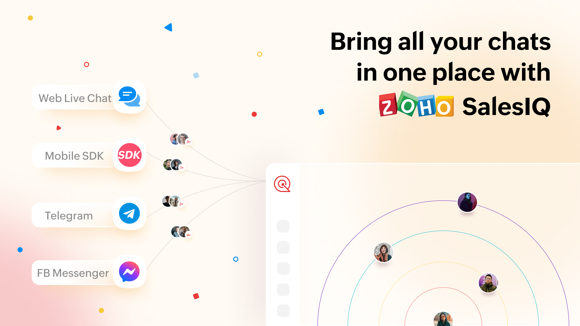 Boost your Customer Engagement with Channels in Zoho SalesIQ
