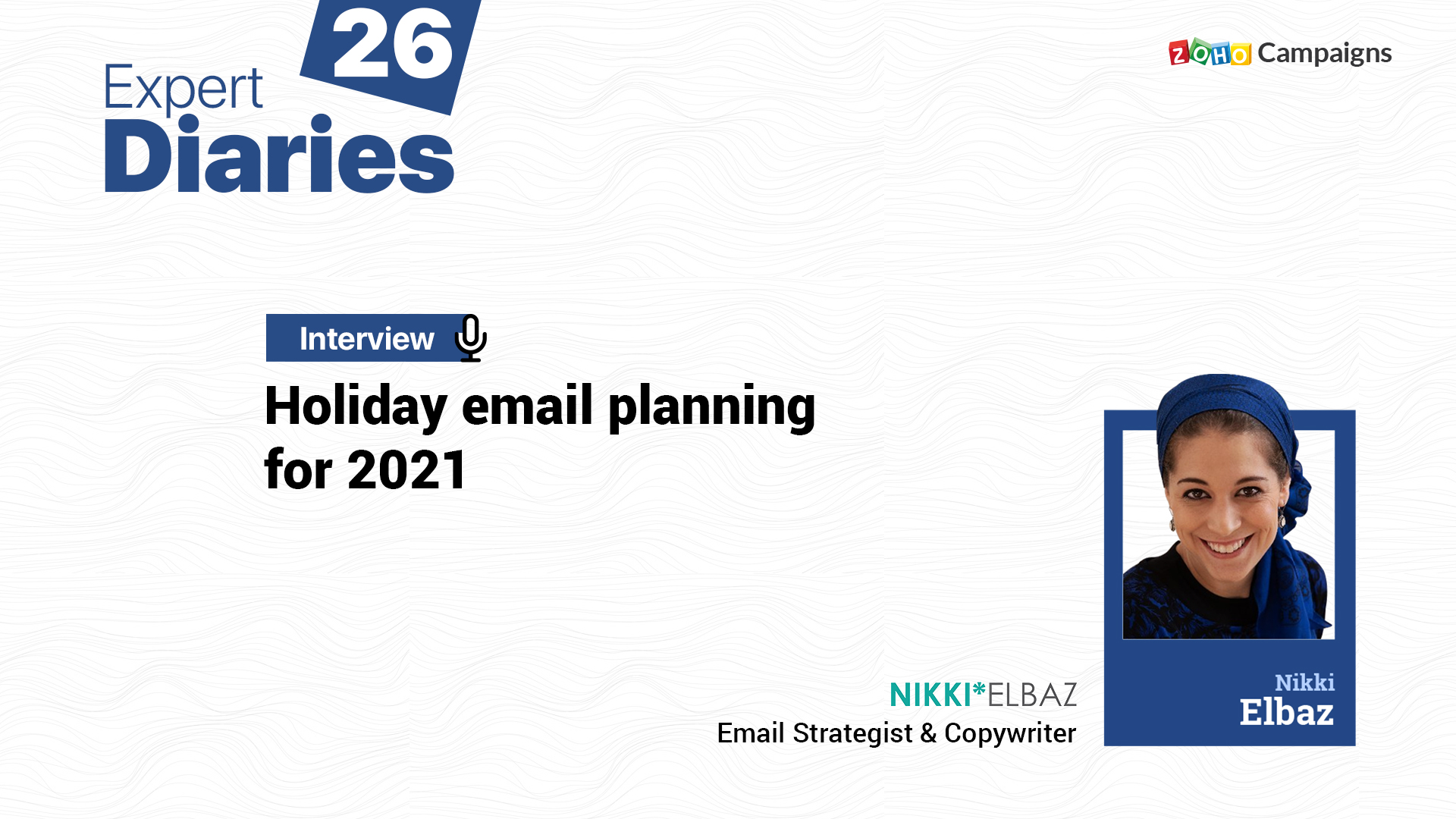 Holiday email planning for 2021