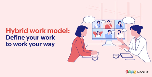 Hybrid work model: A solution for a healthy work-life balance