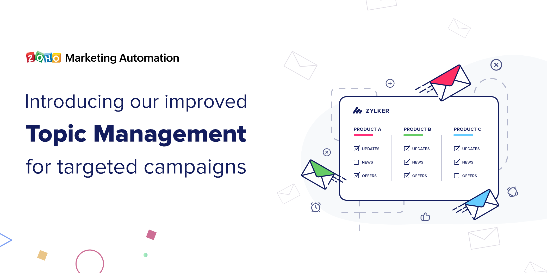 Introducing the improved Topic Management feature for targeted marketing