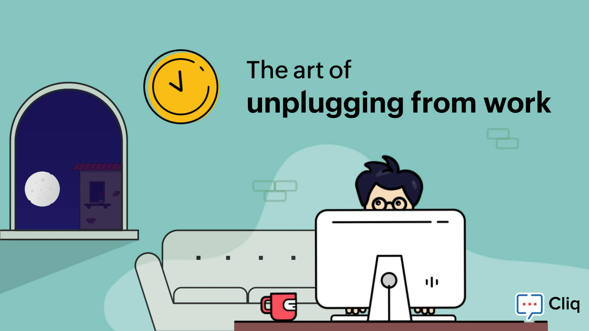 How to unplug when working remotely