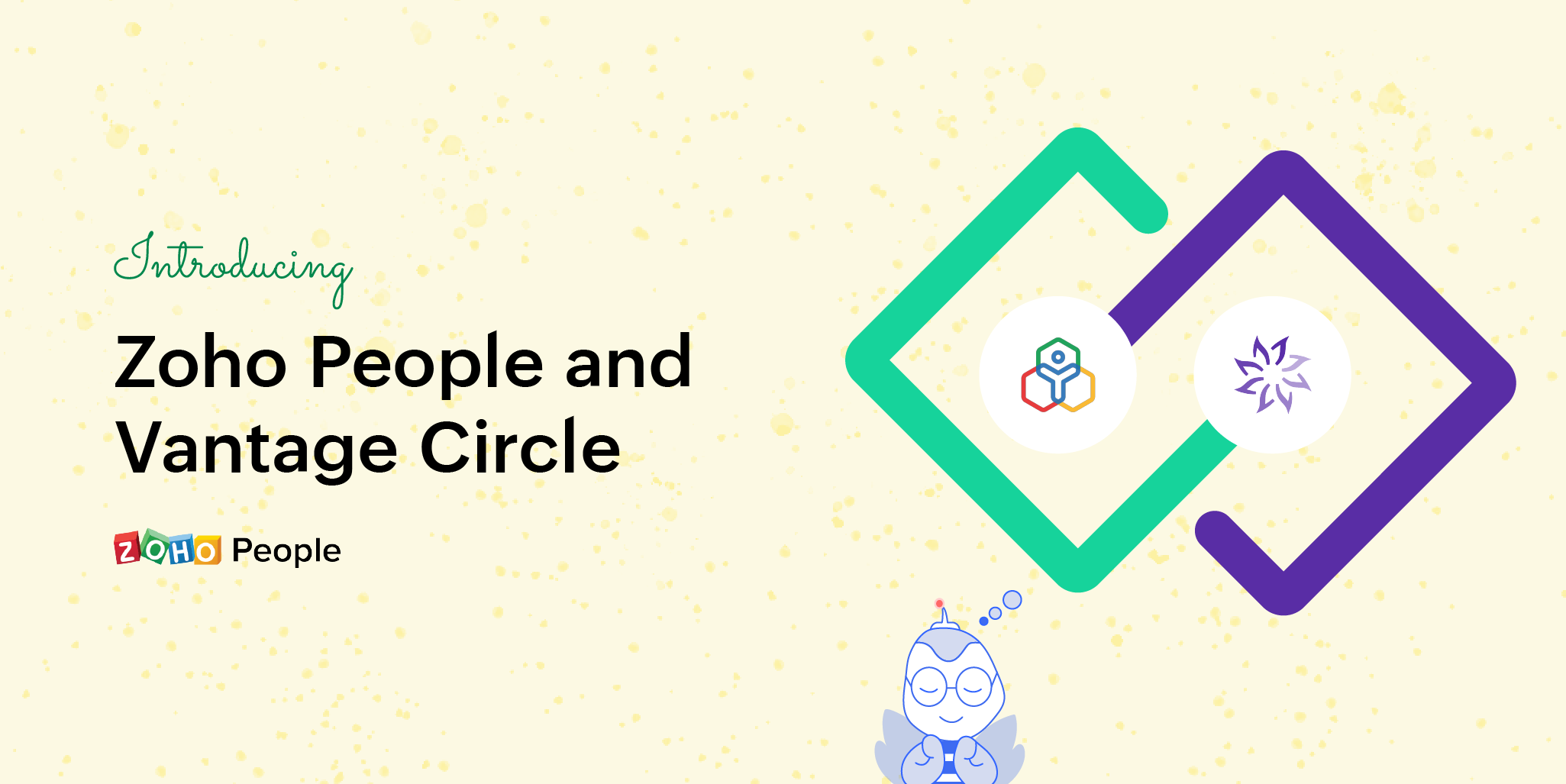 Introducing Vantage Circle for Zoho People: Motivate your employees with rewards
