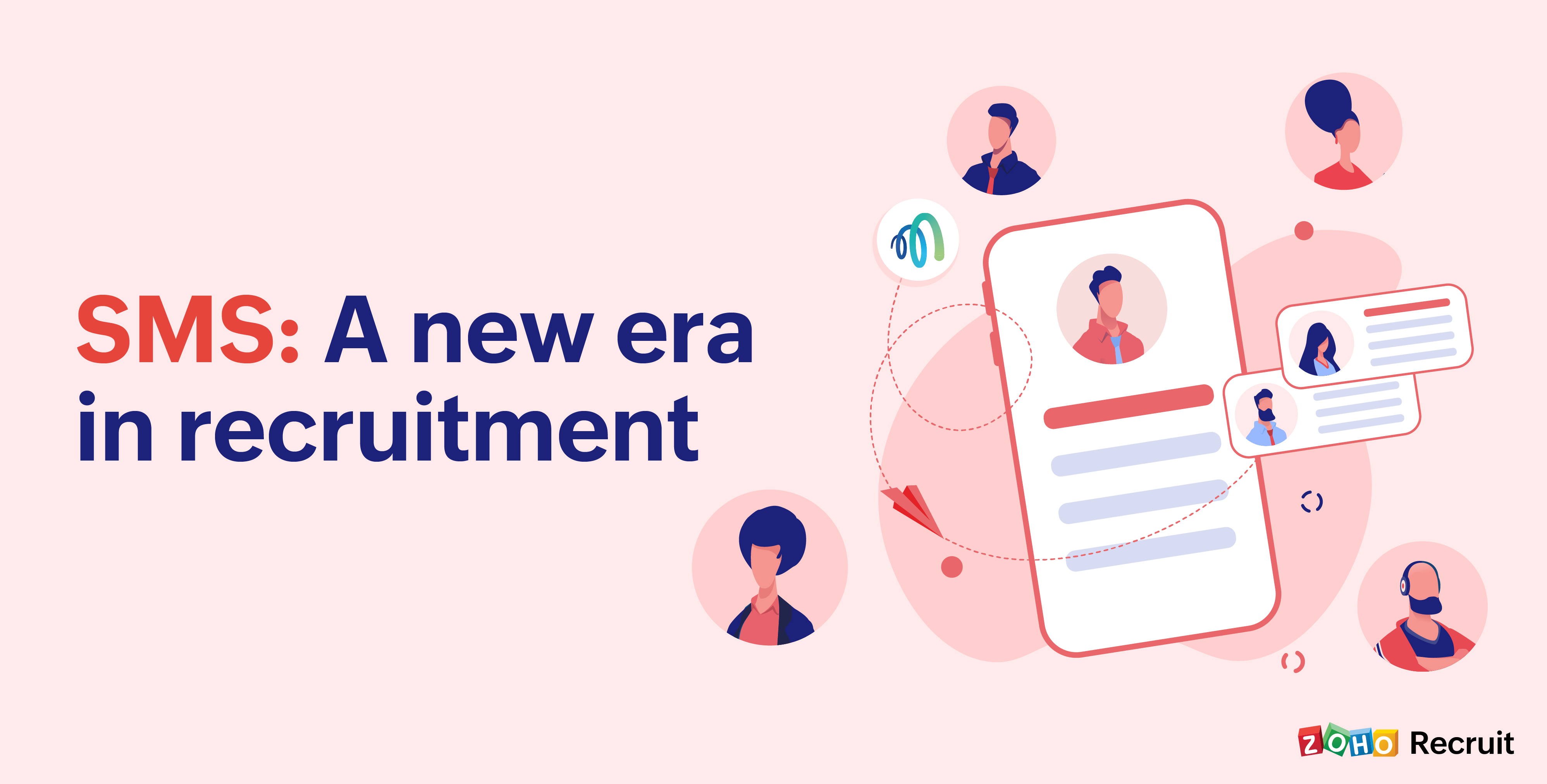 How you can use SMS throughout the candidate hiring process