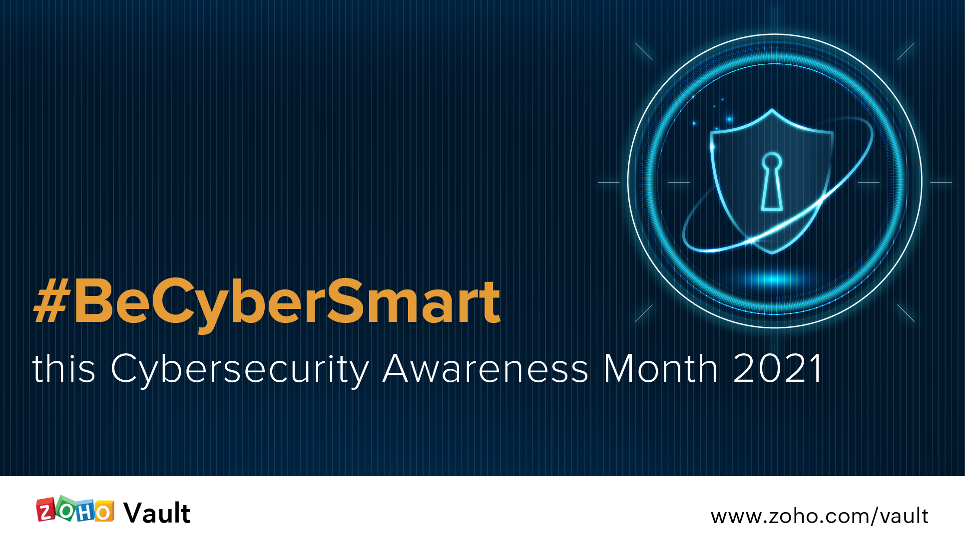 #BeCyberSmart this Cybersecurity Awareness Month 2021