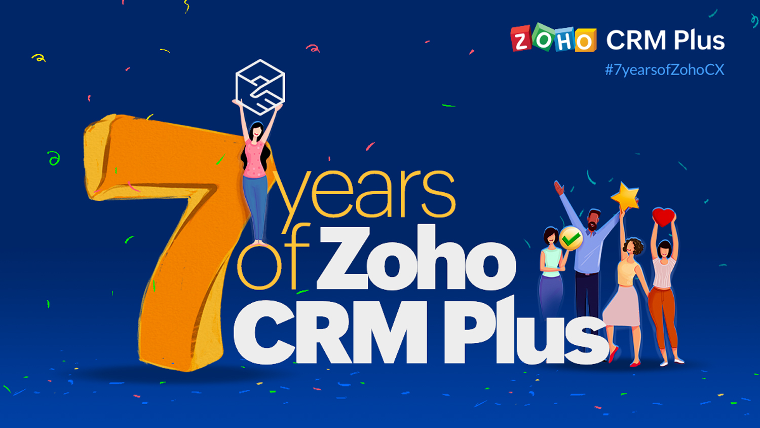 7 Years of Zoho CRM Plus
