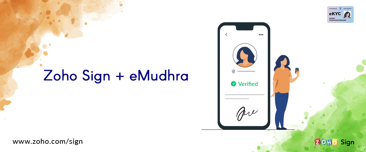 Introducing Zoho Sign's integration with eMudhra
